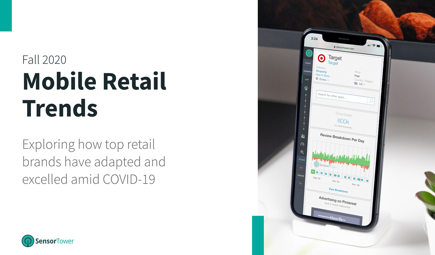 """According to Sensor Tower's Mobile Retail Trends Fall 2020 report, the top B&M apps saw installs grow 27% year-over-year and top e-commerce apps grew 14% year-over-year from Q1 to Q3 2020."""""""