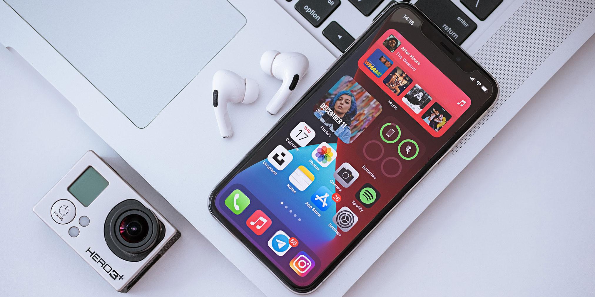 The top five homescreen widget apps have been installed on 15% of U.S. iPhones