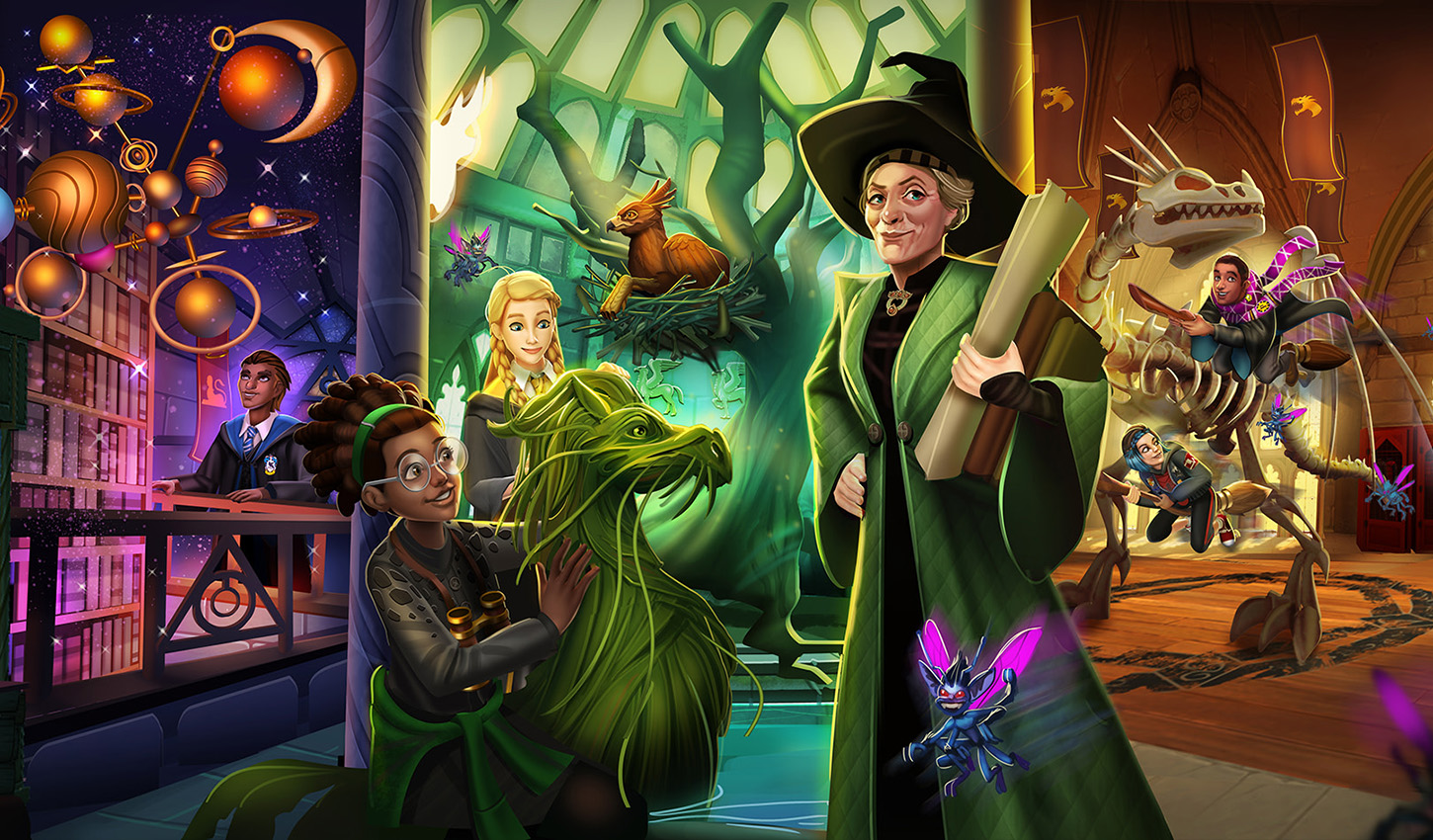 Hogwarts Mystery Increases Player Spending By $ 300 Million In Three Years