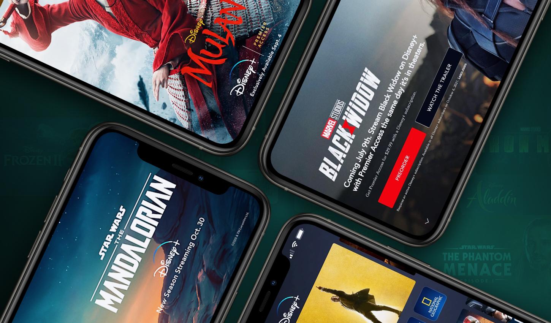 Disney+ Mobile App Exceeds .5 Billion in Worldwide Consumer Spending